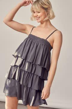 Iliana Ruffle Dress