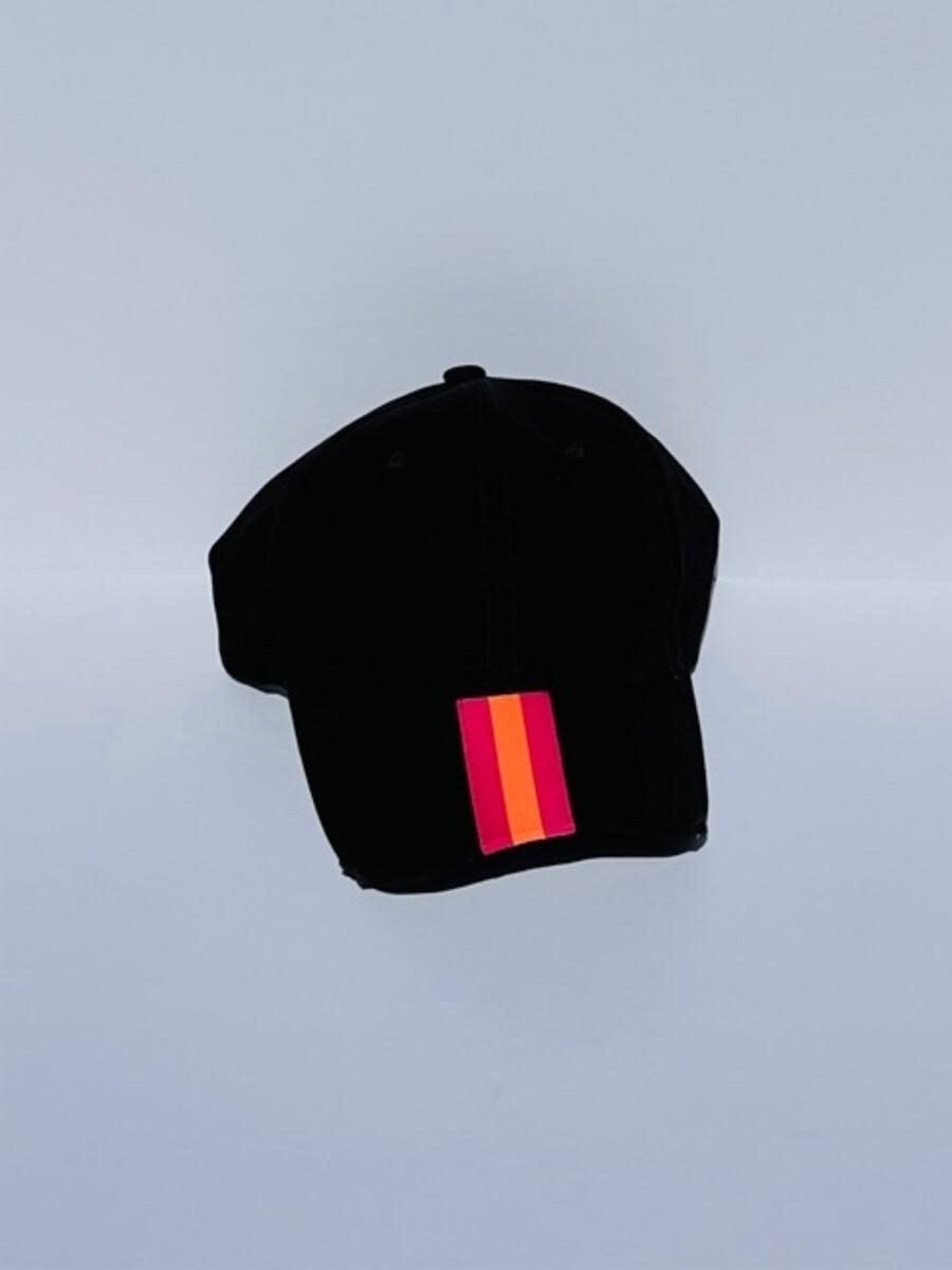 HAUTE SHORE HAUTE HAT-BOARDWALK BLACK PINK/ORANGE STR