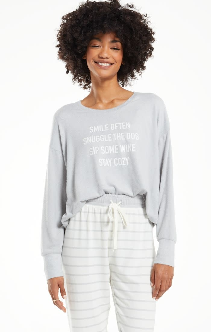 Z SUPPLY Lina Smile LS Top