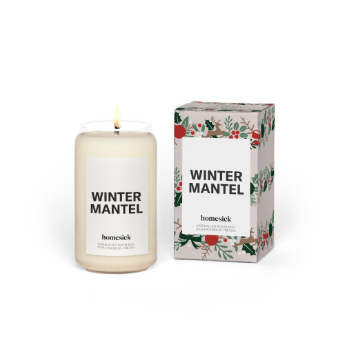 Homesick Candles WINTER MANTLE CANDLE