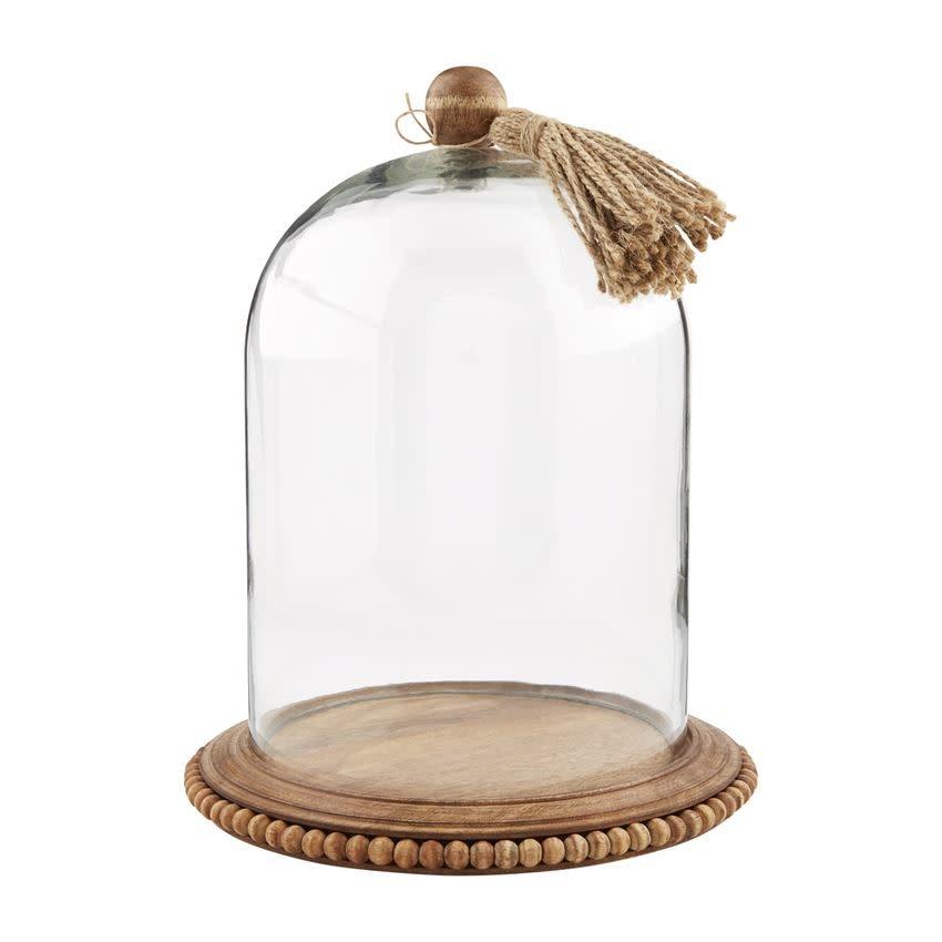MUD PIE GLASS TASSEL CLOCHE