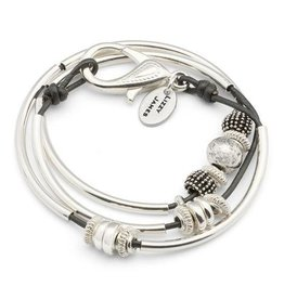 LIZZY JAMES LIZZY GINGER WRAP BRACELET
