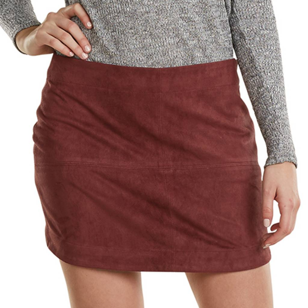 MUD PIE IVERSON SUEDE SKIRT