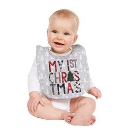 MUD PIE MY FIRST CHRISTMAS ALPINE BIB