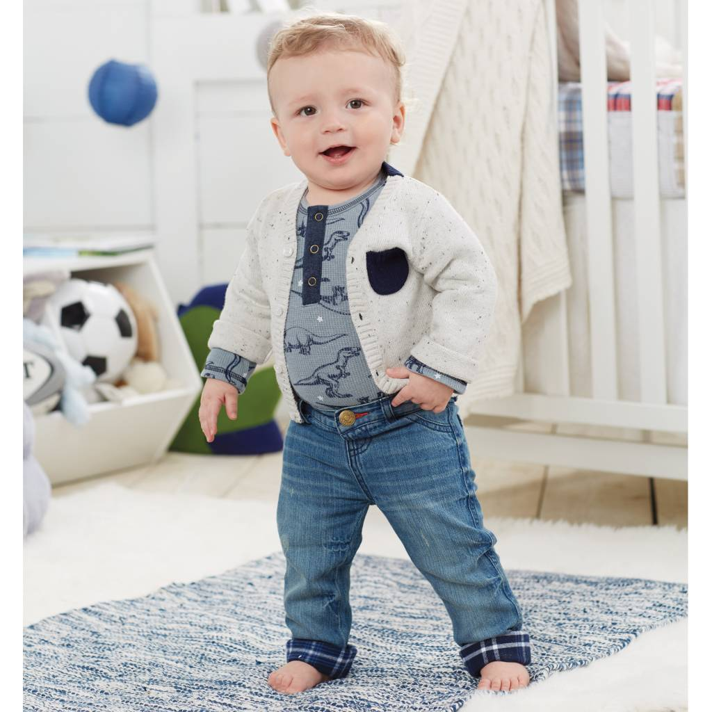 MUD PIE PLAY JEANS- INFANT