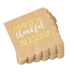 MUD PIE THANKSGIVING PAPER NAPKINS