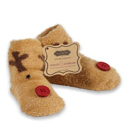 MUD PIE CHENILLE HOLIDAY CHARACTER SOCKS