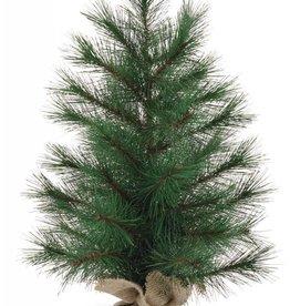 MUD PIE LARGE FAUX PINE TREE