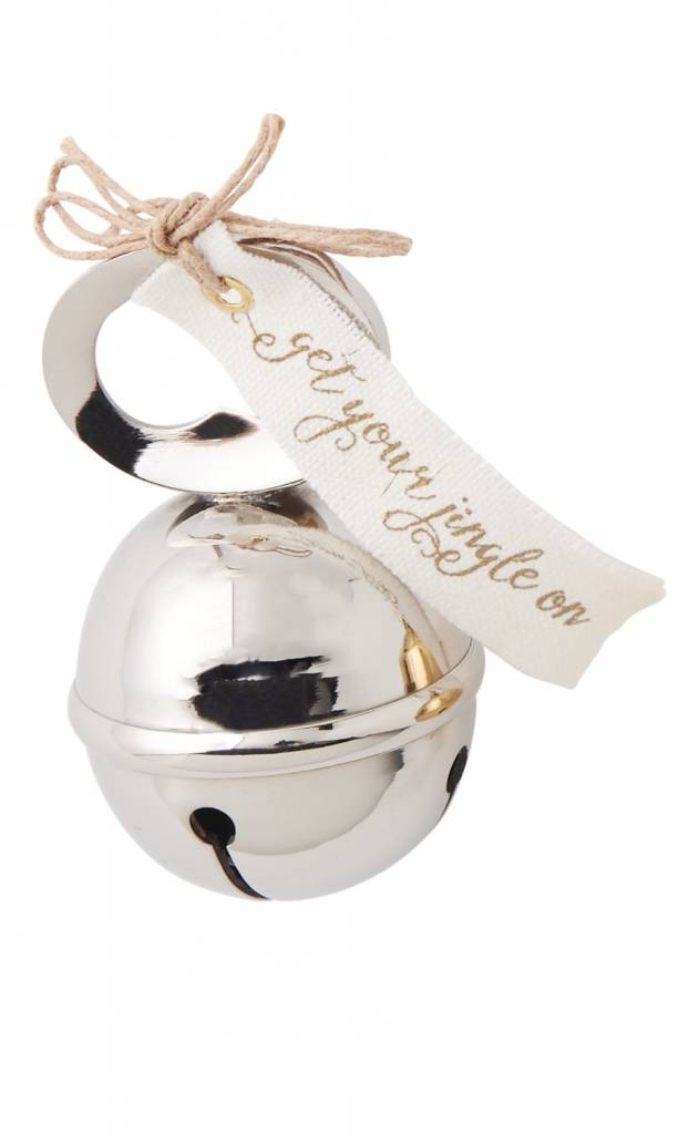 Christmas Bell.Mud Pie Jingle Bell Shaped Bottle Opener