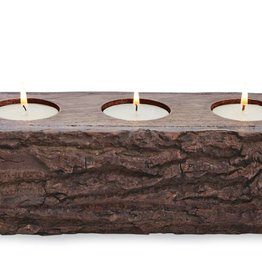 MUD PIE BARK CANDLE TROUGH