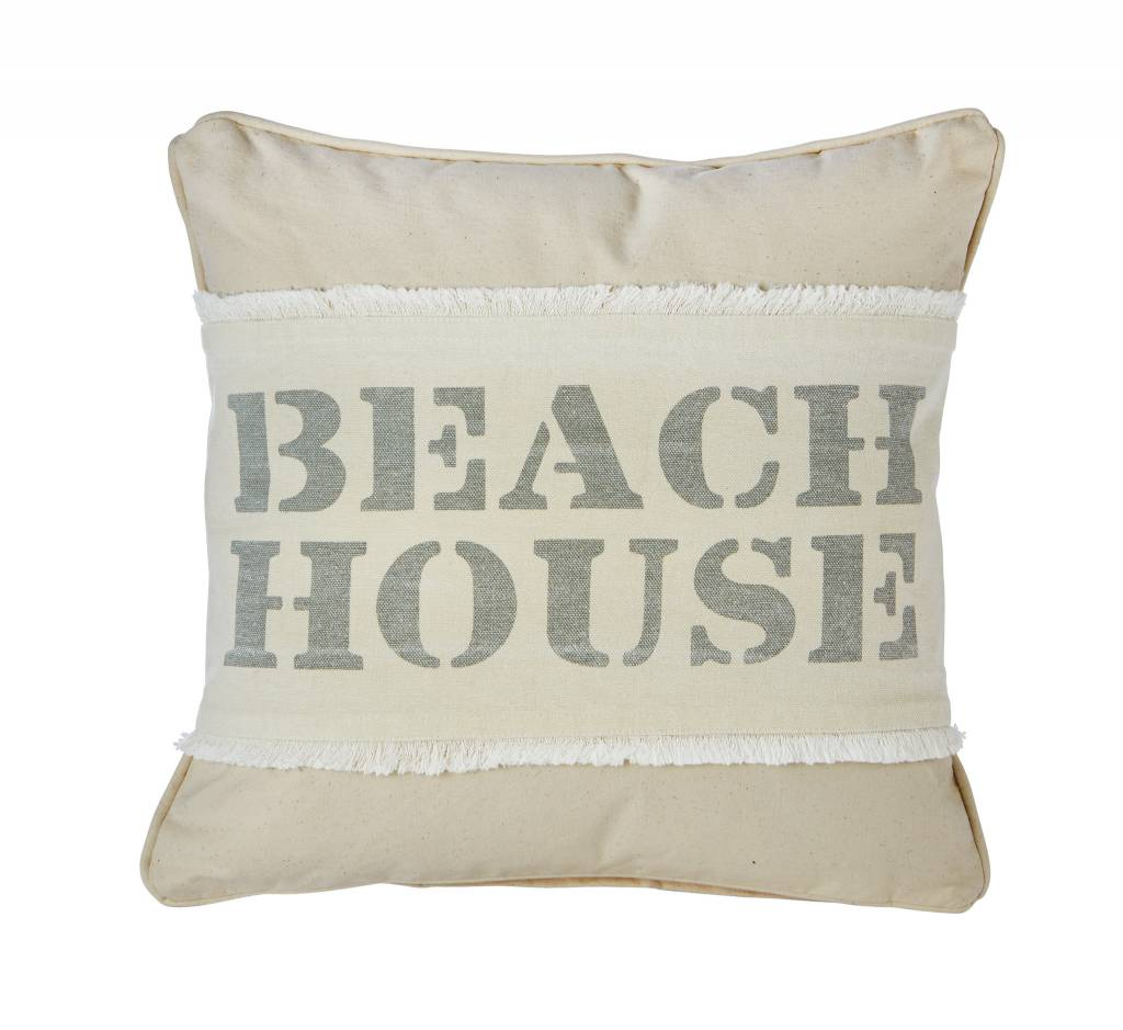 MUD PIE BEACH HOUSE PILLOW WRAP