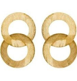 SHEILA FAJL GRETA EARRINGS-DOUBLE CIRCLE