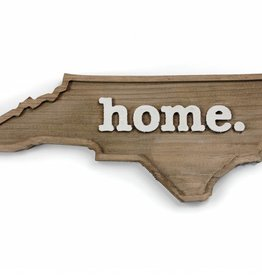 HOME STATE APPAREL NC HOME WOOD PLAQUE