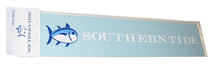 "SOUTHERN TIDE DECAL 12"" BLUE SKIPJACK"