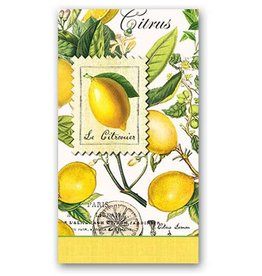 MICHEL DESIGN WORKS LEMON BASIL HOSTESS NAPKIN