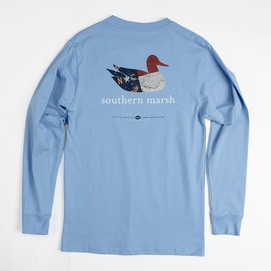 SOUTHERN MARSH BACKROADS- NORTH CAROLINA L/S TSHIRT