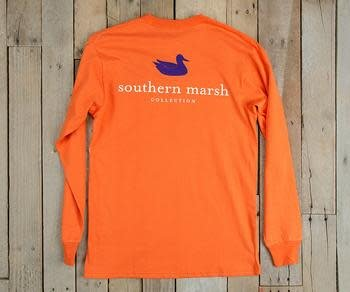 SOUTHERN MARSH AUTHENTIC COLLEGIATE L/S TSHIRT