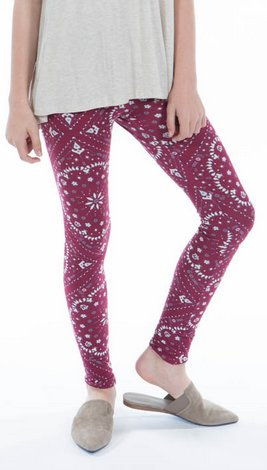 CRANBERRY LEGGING