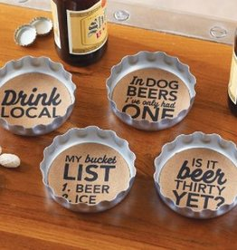 MUD PIE BEER BOTTLE COASTERS