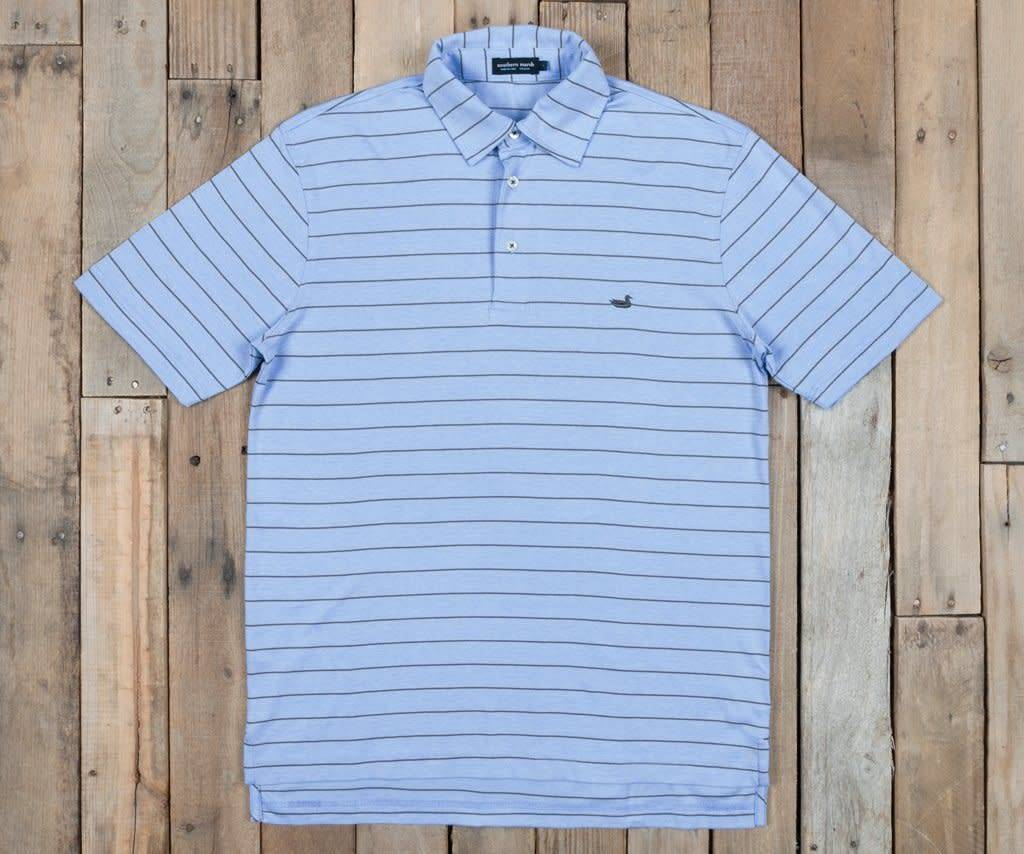 BERKELEY PERFORMANCE POLO- STRIPED