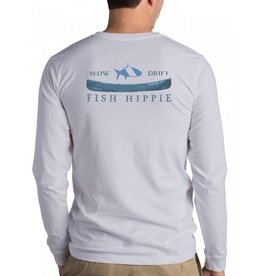 FISH HIPPIE SLOW DRIFT LS POCKET TEE