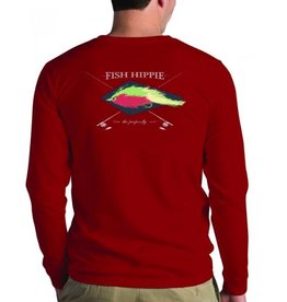 FISH HIPPIE PROPER FLY LS T-SHIRT