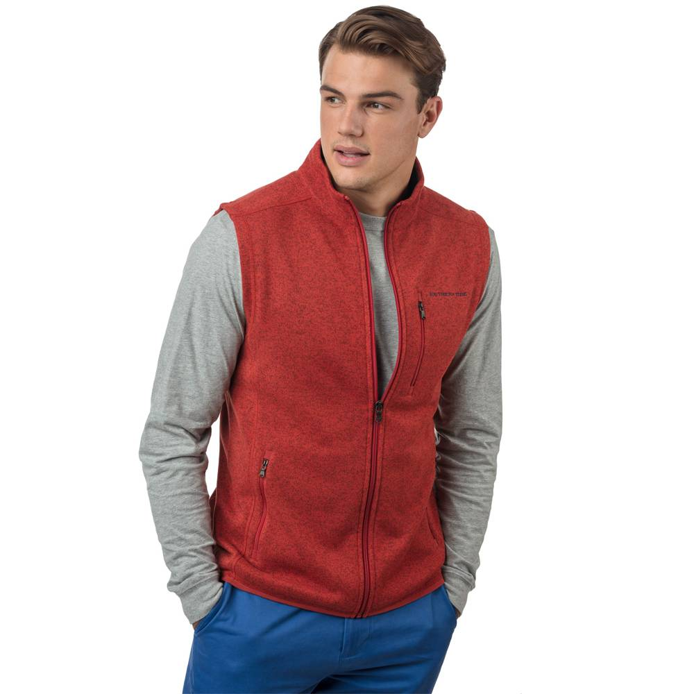 SOUTHERN TIDE SAMSON PEAK FLEECE SWEATER VEST
