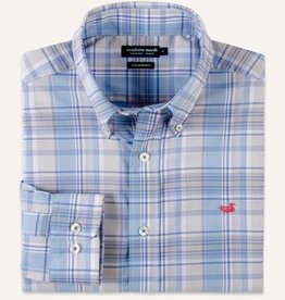 SOUTHERN MARSH KERSHAW PERFORMANCE PLAID SPORTSHIRT