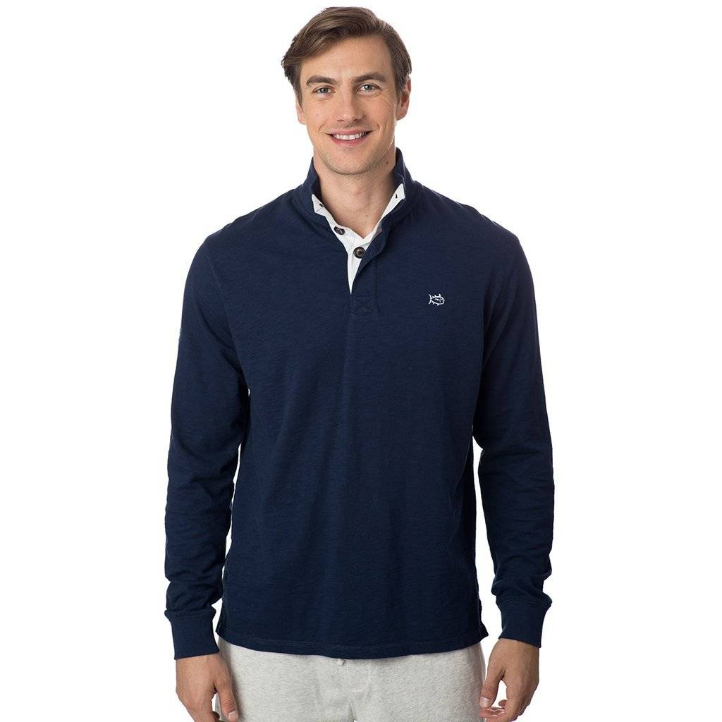 SOUTHERN TIDE GULF STREAM SOLID PULLOVER