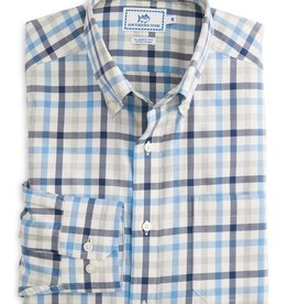 SOUTHERN TIDE GAP CREEK MULTI GINGHAM SPORT SHIRT- size Med