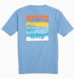 SOUTHERN TIDE S/S HEATHERED SOUTHERN REFLECTION TEE