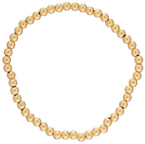 ENEWTON CLASSIC GOLD 4MM BEAD BRACELET