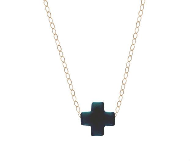 ENEWTON SIGNATURE CROSS NECKLACE 16""