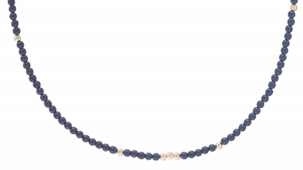 "ENEWTON WORTHY NECKLACE 15"" NAVY"
