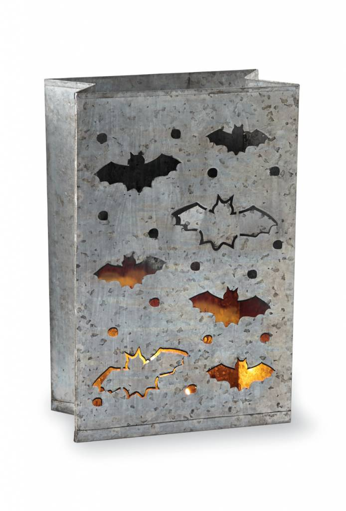 MUD PIE TIN HALLOWEEN LUMINARY