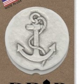 ANCHOR CAR COASTERS 2-PK