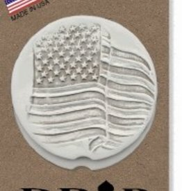 FLAG CAR COASTERS 2-PK
