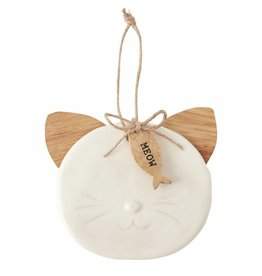 MUD PIE CAT ORNAMENT