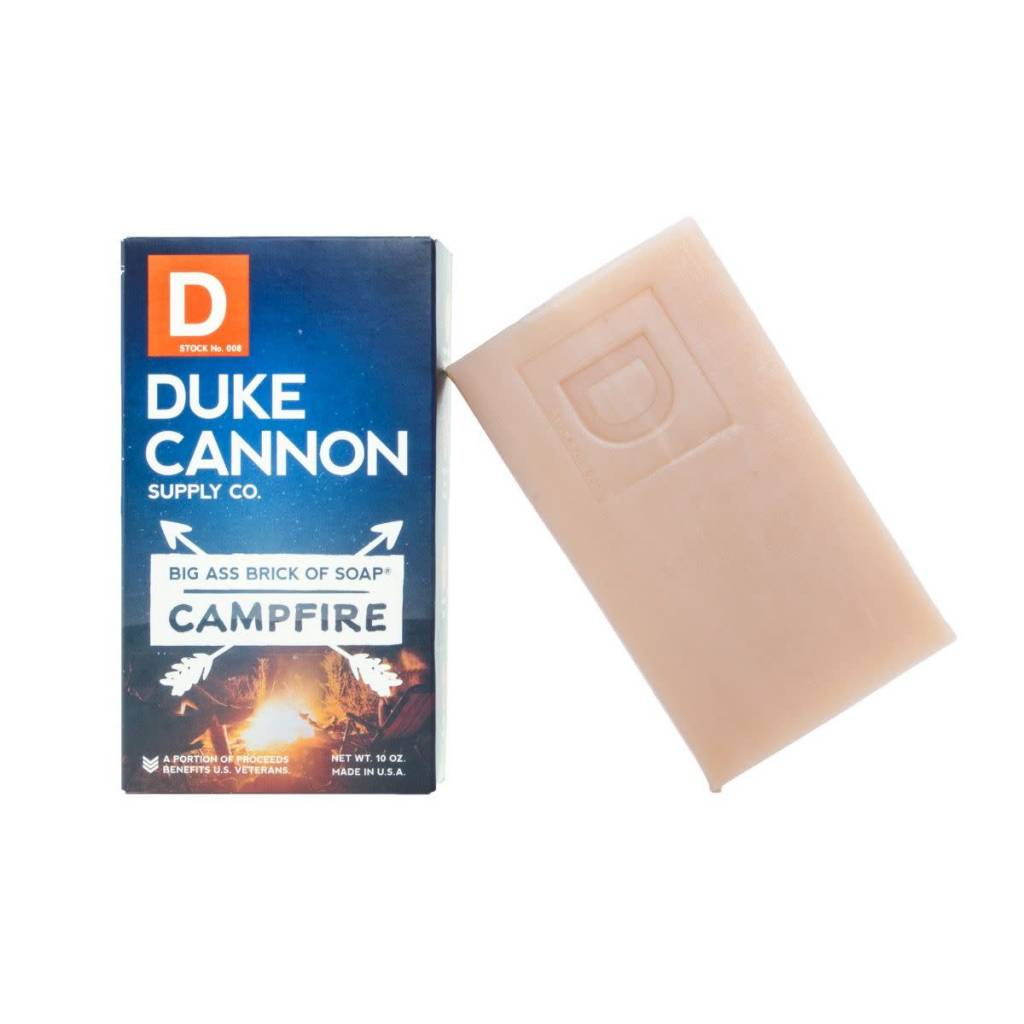 BIG ASS BRICK OF SOAP- CAMPFIRE