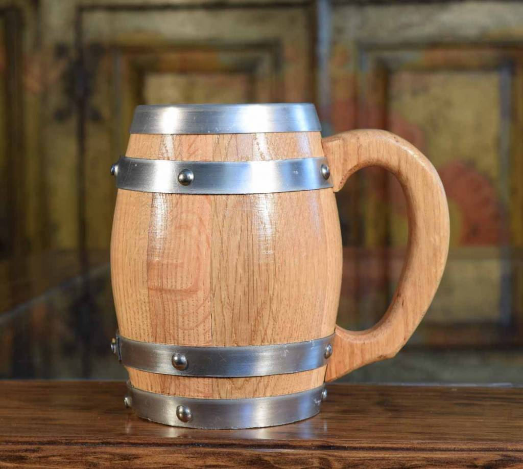 THOUSAND OAKS BARREL OAK BARREL MUG