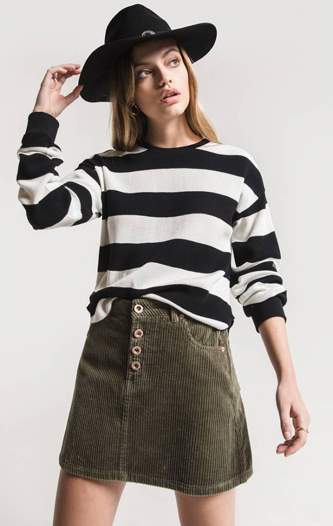 WHITE CROW SUFFORD CORDUROY SKIRT