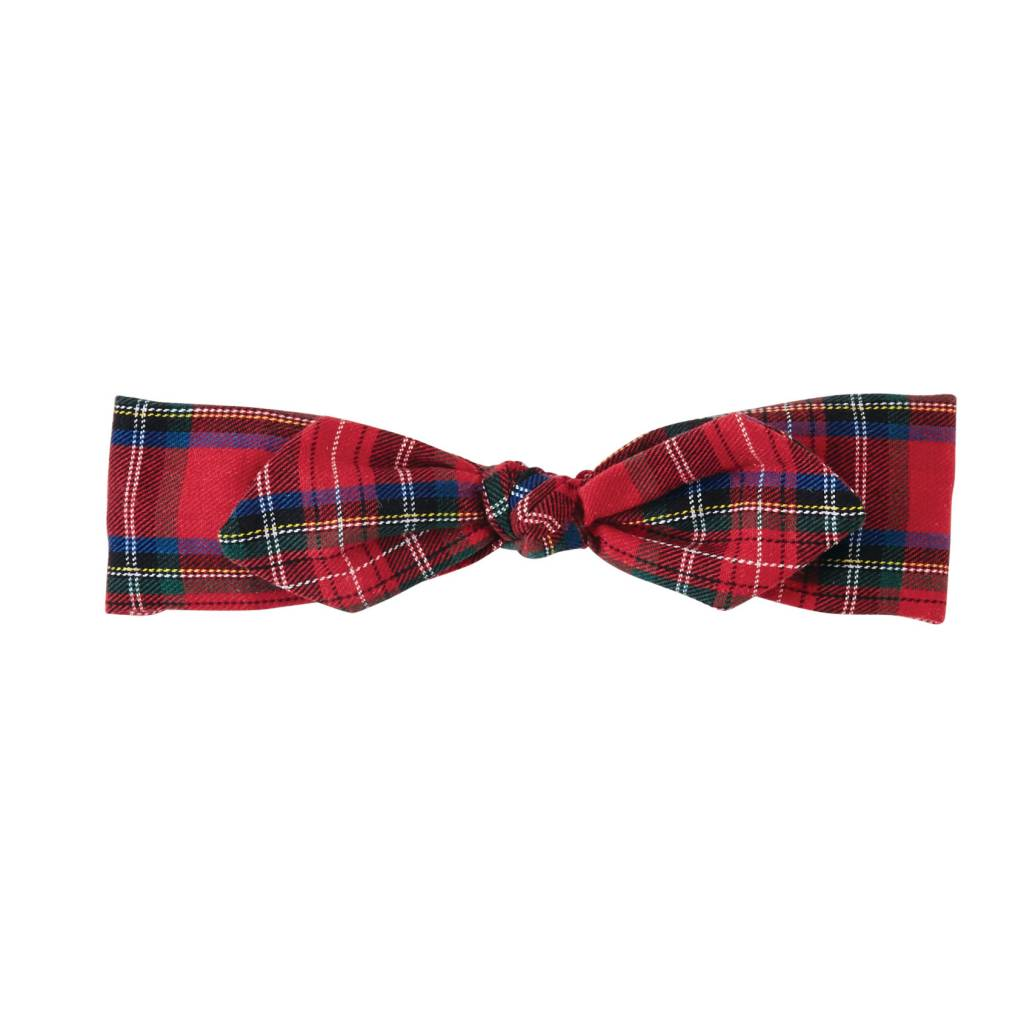 MUD PIE TARTAN PLAID SOFT HEADBAND