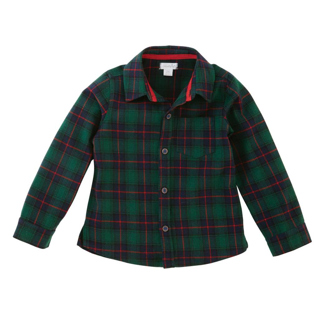 MUD PIE ALPINE VILLAGE BUTTON DOWN SHIRT