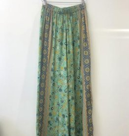 BAND OF GYPSIES TIE CROP & PALAZZO PANT 2-PIECE SET