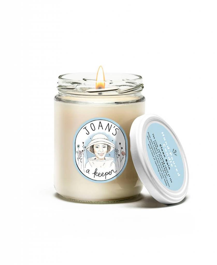 HAND-POURED CANDLE-CLEAN RAIN