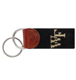 SMATHERS & BRANSON WAKE FOREST NEEDLEPOINT KEY FOB