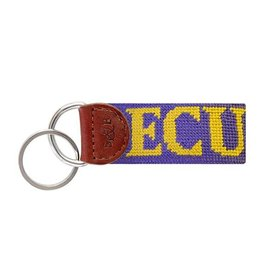 SMATHERS & BRANSON EAST CAROLINA NEEDLEPOINT KEY FOB