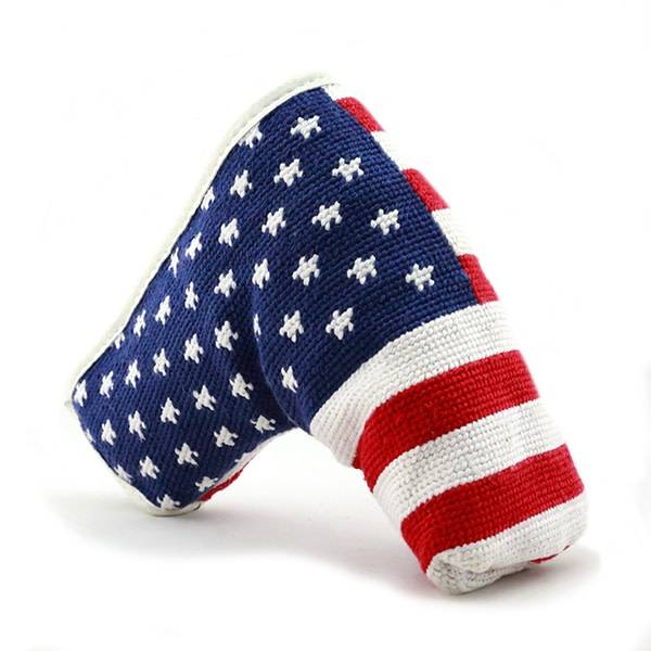SMATHERS & BRANSON BIG AMERICAN FLAG PUTTER HEADCOVER