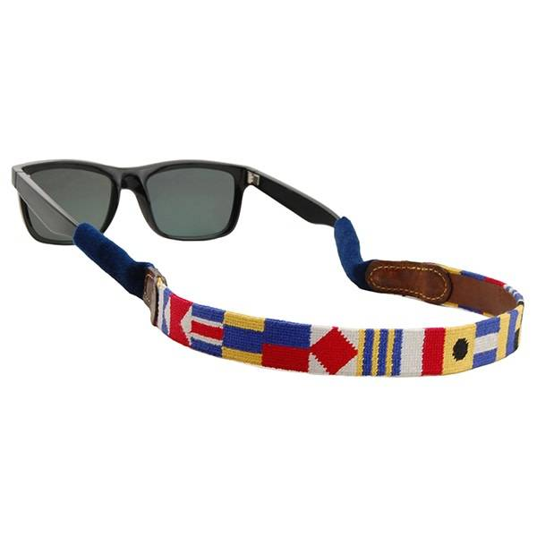SMATHERS & BRANSON NAUTICAL ALPHABET SUNGLASS STRAP