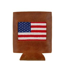 SMATHERS & BRANSON SMATHERS & BRANSON CAN COOLER AMERICAN FLAG